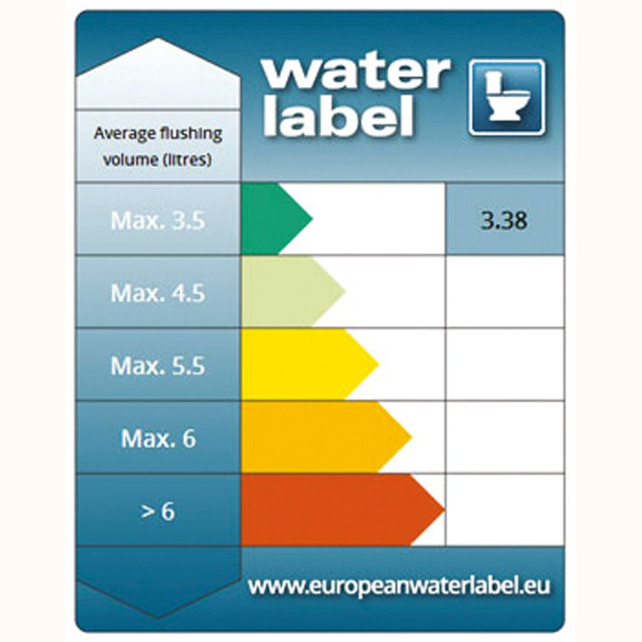 3 water label